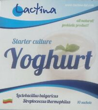Genuine yogurt starter culture from Bulgaria, Lactina