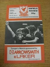 20/03/1979 Liverpool v Wolverhampton Wanderers  (Excellent Condition)