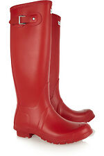 NIB RED HUNTER SIZE 9 WELLINGTON BOOTS