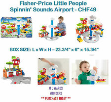 Fisher-Price Little People Spinnin' Sounds Airport - CHF49 ** PURCHASE TODAY **
