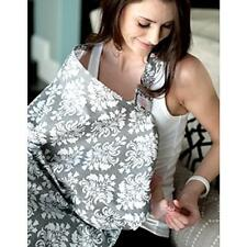 New Nursing Cover Breastfeeding Hooter Hider Covers Beautiful Gray & White
