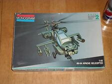 AH-64 APACHE HELICOPTER, USA, Plastic Model Kit, Scale 1:48