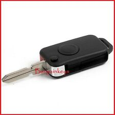 MERCEDES BENZ KEY FLIP FOB 1 BUTTON A C E S class MB WITH 4 TRACK BLADE