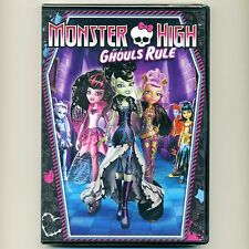 Monster High: Ghouls Rule 2012 Halloween movie, new DVD, Frankie Stein, Mattel