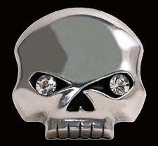 Harley Davidson Womens Willie G Skull Rhinestones Buckle