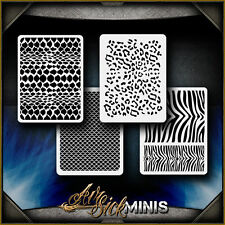 """Mini Animal Patterns"" Airbrush Stencil Template Airsick"