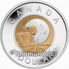 Canada 2011 $5 Silver w/ Niobium Hunter's Moon BiMetallic Proof