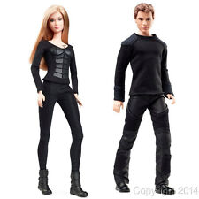 2014 Divergent TRIS & FOUR Barbie Ken Dolls Set of 2 NEW!