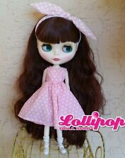 Factory Type Neo Blythe Doll Auburn Red Brown Hair  - Includes Outfit