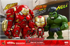 HOT TOYS AVENGERS AOU AGE OF ULTRON COSBABY COLLECTIBLE FIGURE SET OF 3 ~NEW~