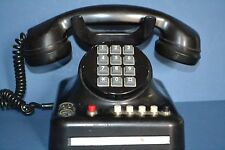 Genuine Standard Electric Bakelite Push Button Telephone, Marked on Base, c1940