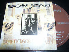 Bon Jovi Something For The Pain Australian Card Sleeve CD Single