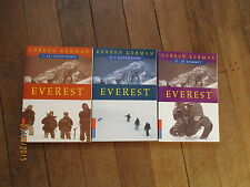 POCKET JEUNESSE 1184 1185 1186 EVEREST lot 3 tomes  gordon korman serie complete