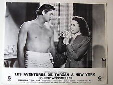 JOHNNY WEISSMULLER PHOTO EXPLOITATION LOBBY CARD TARZAN A NEW-YORK MGM