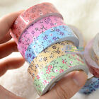 Lot 10pcs Frabic Printing Washi Tape Decorative DIY Tape Sticky Paper Craft Gift