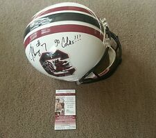 jadeveon clowney signed south carolina full size helmet w/jsa coa