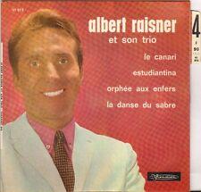 """TRIO ALBERT RAISNER """"LE CANARI"""" 70'S EP"""