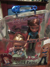 BRATZ BOXED 2 IN 1 BABYSITTER FUN!! ALICIA AND LANA.