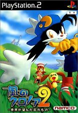 UsedGame PS2 Klonoa 2 Lunatea's Veil [Japan Import] FreeShipping