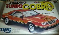 MPC FORD MUSTANG TURBO COBRA 1/25 MODEL CAR MOUNTAIN KIT FS 1979