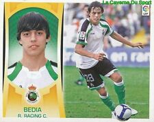 10 EDU BEDIA ESPANA REAL RACING SANTANDER STICKER ESTE LIGA 2010 PANINI