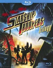Starship Troopers Trilogy 1 2 3 Hero of The Federation/Marauder (Blu-ray 3-Disc)