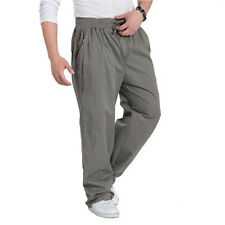 Casual loose Men's Cargo Pants Men Military Sweatpants Joggers Trousers XL-6XL