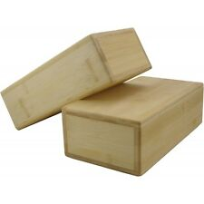 Fitness Mad Hollow Bamboo Yoga Brick