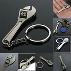 New Metal Adjustable Creative Tool Wrench Spanner Key Chain Ring Keyring BC8U