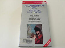 BACH SONATAS FOR FLAUTO TRAVERSO 2 CASSETTE SET 077774975346