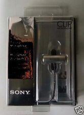 Sony ECM-CS3 Clip style Omnidirectional Tie-Clip Stereo Microphone # ECMCS3