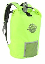 Aquabourne San Remo Waterproof Lightweight Cycling DRY Bag Backpack (Neon Green)