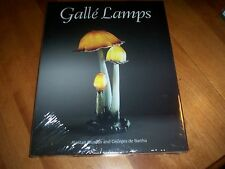 GALLE LAMPS Antique Lamp France Glass Glasswork Collector Antiques Book NEW