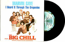 "MARVIN GAYE (THE BIG CHILL) - I HEARD IT THROUGH THE GRAPEVINE PROMO 7""45 RECORD"