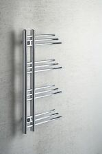 Chrome Heated Towel Rail Designer Radiator Fuji 500 mm Wide 900 High Bathroom