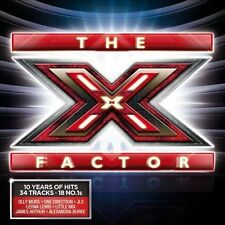 The X Factor: 10 Years of Hits New CD