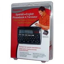 Franklin TES221 Electronic English and Spanish Bilingual Dictionary/Phrasebook