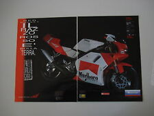 advertising Pubblicità 1993 MOTO YAMAHA MARLBORO RED ROCKET 125