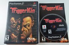 Trigger Man - Sony PlayStation 2 PS2 . COMPLETE with MINT CONDITION DISC CIB