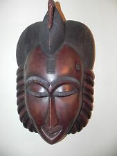"Arts of Africa - Authentic Baule Mask - Cote d Ivoire -  24"" Height x 15"" Wide"