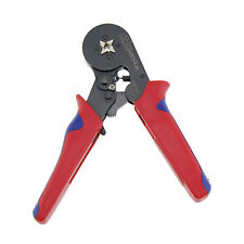 Self Adjusting Ratcheting Ferrule Crimper HSC8 6-4A End-sleeves Crimping Plier