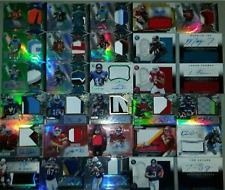 Carson Wentz Ezekiel Elliott Dak Prescott Tom Brady GAME USED AUTO 20 Card Lot