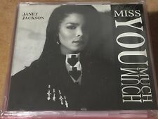 Janet Jackson Miss You Much Promo Remix CD