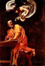 Michelangelo Caravaggio St Matthew and the Angel Art Print Poster - 13x19