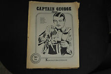CAPTAIN GEORGE PRESENTS #43-44 KING FEATURES SYNDICATE FINE-