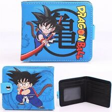 Anime Dragon Ball Wallet Son Goku Bifold Card Holder Purse Cosplay