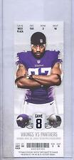 Minnesota Vikings Carolina Panthers 11/30/14 Full Ticket...Everson Griffen