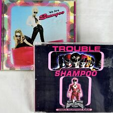 Shampoo 2 Cd Lot We Are (Full) + Trouble Power Rangers Movie 1trk Promo 1994-95