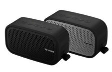 PORTRONICS POSH BLUETOOTH SPEAKER+MIC+AUX+WATER RESISTANT+LIGHT WT.+LONG BATTERY