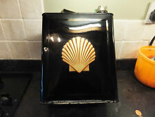 Vintage Shell 2 Gallon Petrol Can Decal Sticker Bullnose Morris Rare to Find